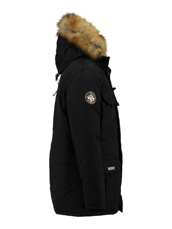 Geographical Norway Parka Barley in Schwarz