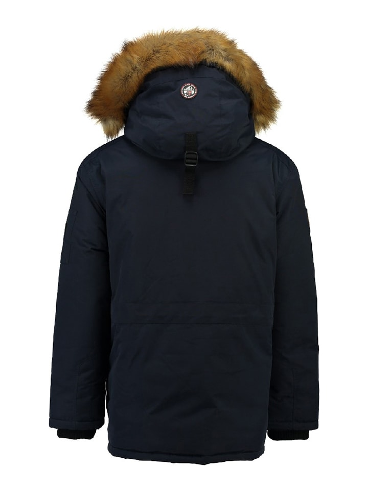 """Geographical Norway Parka """"Barley"""" in Dunkelblau"""