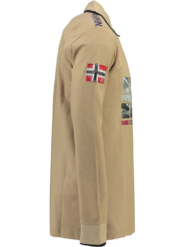 Geographical Norway Poloshirt Kalopark in Beige