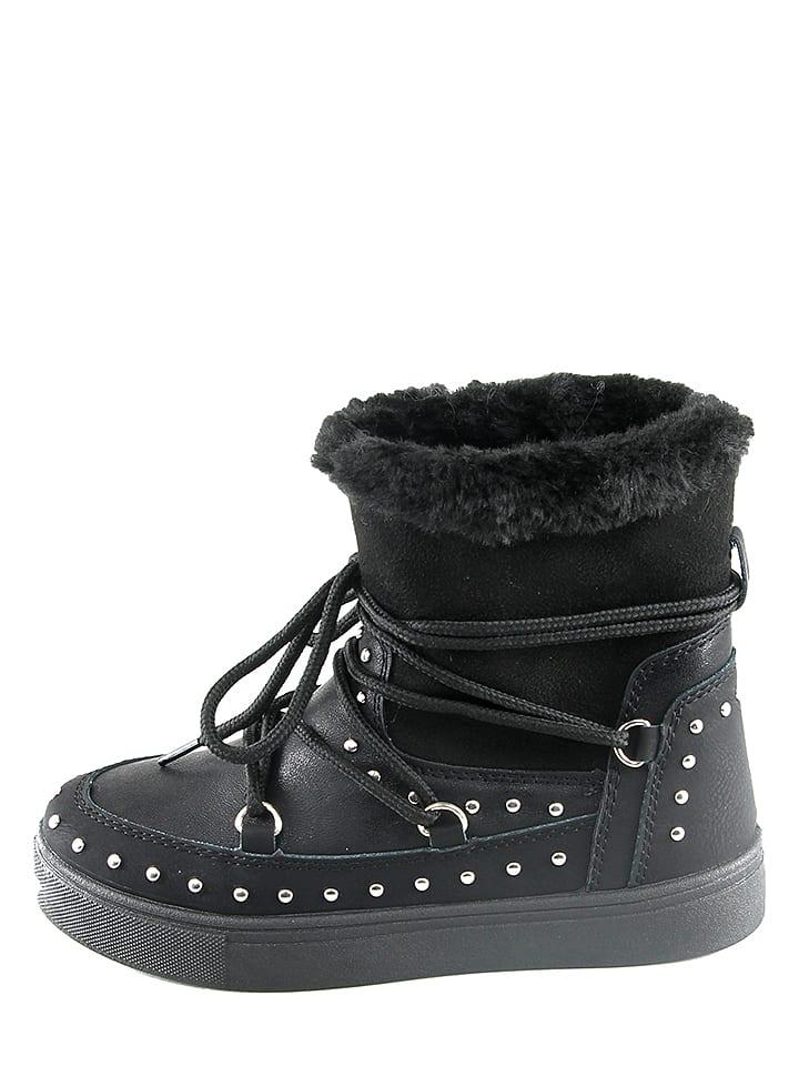 Doremi Boots in Schwarz