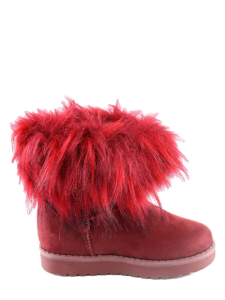 Doremi Boots in Rot
