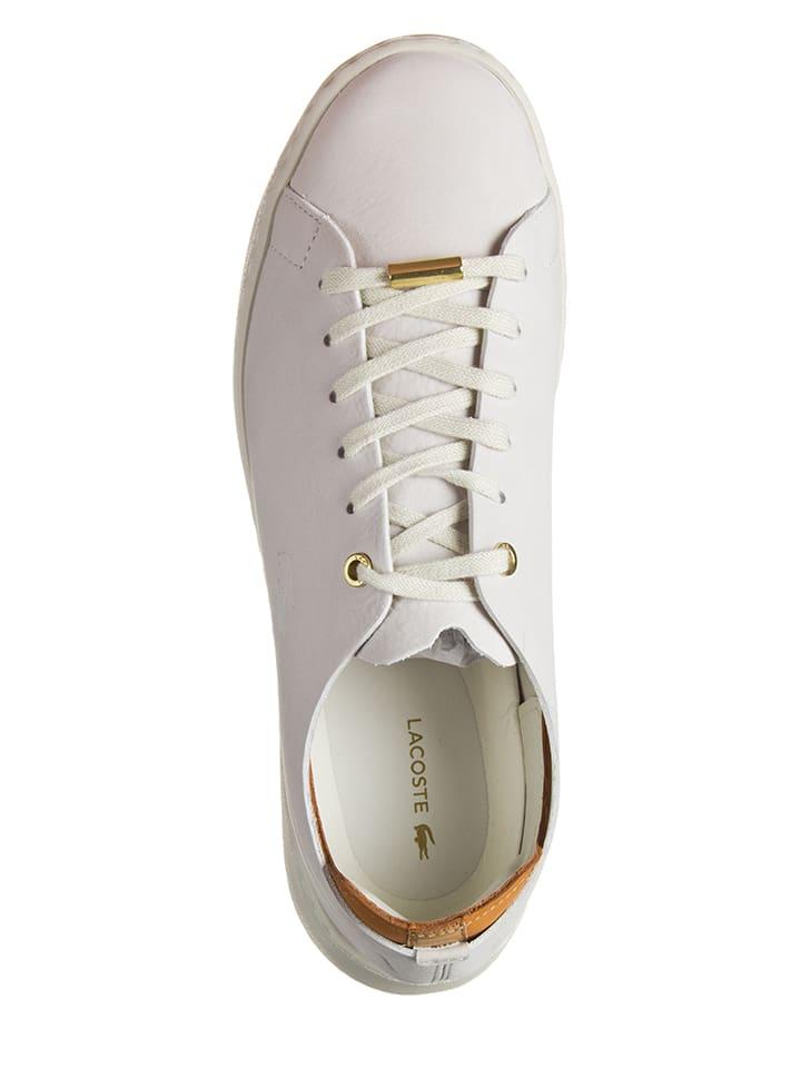 Lacoste Leder-Sneakers Eyla in Creme - 57% yU0LME069