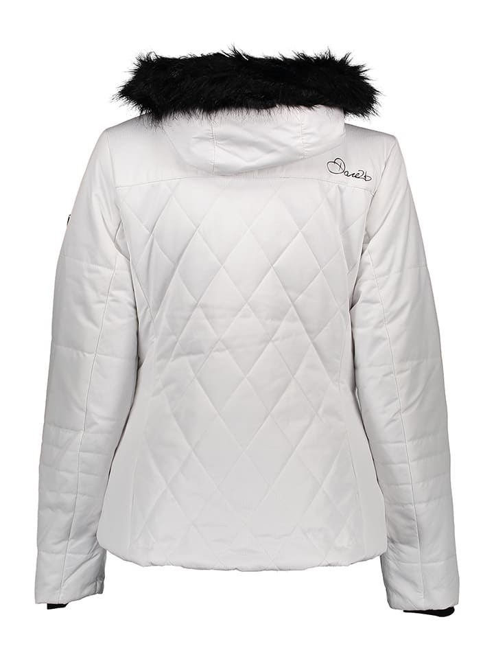 Dare 2b Ski-/ Snowboardjacke Ornate in Weiß