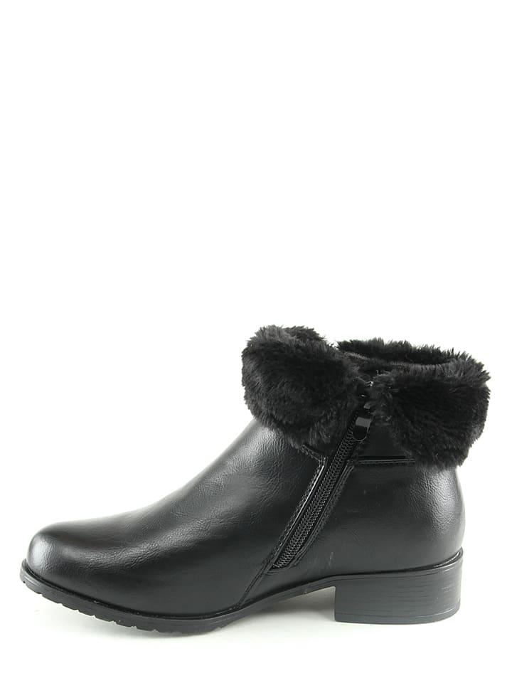 Foreverfolie Boots in Schwarz