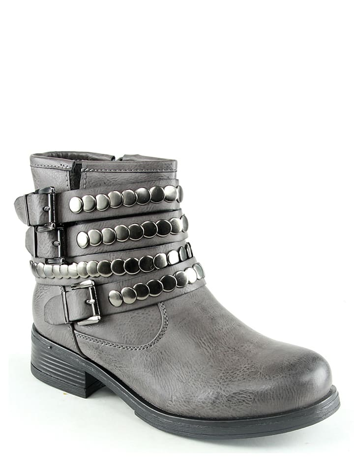 Foreverfolie Boots in Grau - 62%