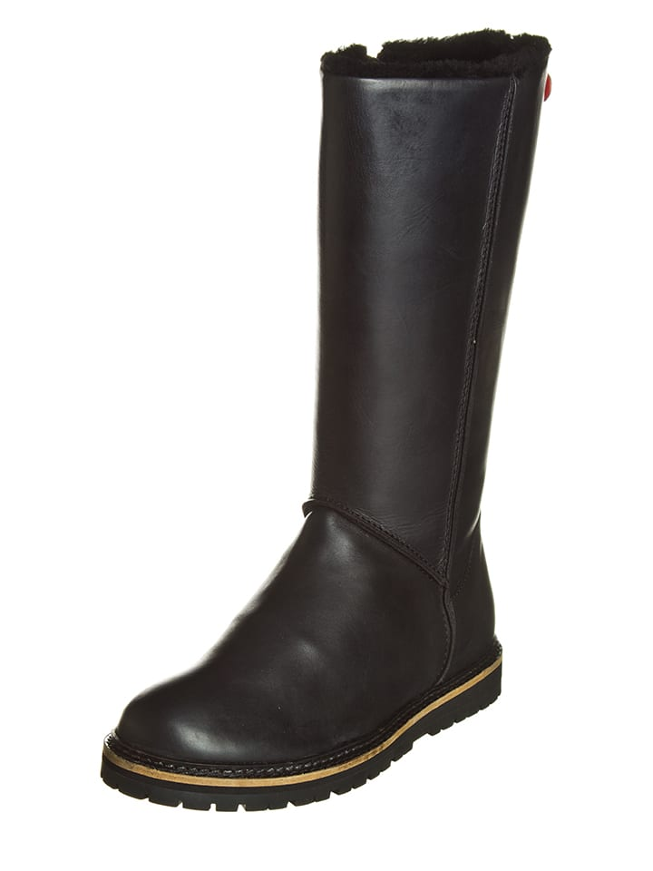 Kickers Leder-Boots Smatch in Braun - 66%