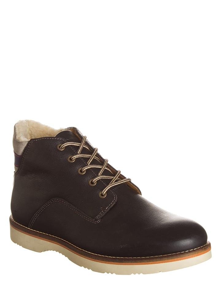 """GANT Footwear Leder-Schnürschuhe """"Huck"""" in Schwarz"""