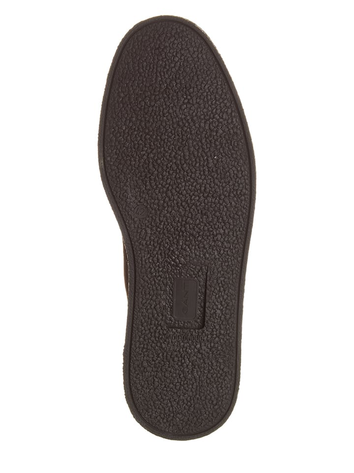 GANT Footwear Leder-Boots Josef in Braun