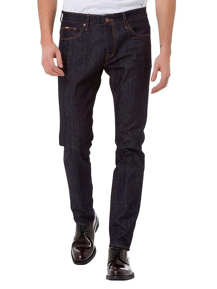 """Cross Jeans Jeans """"939 Tapered"""" - Tapered fit - in Dunkelblau"""