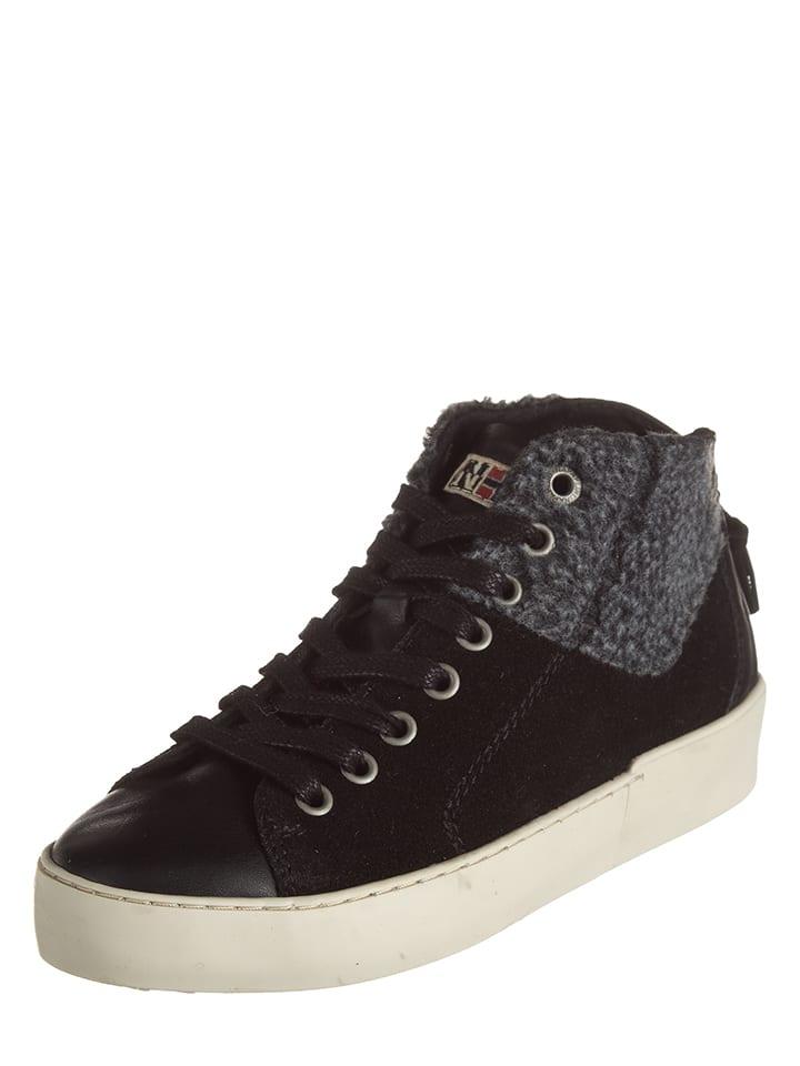 Napapijri Leder-Sneakers Minnie in Schwarz - 63% tp6cHNB