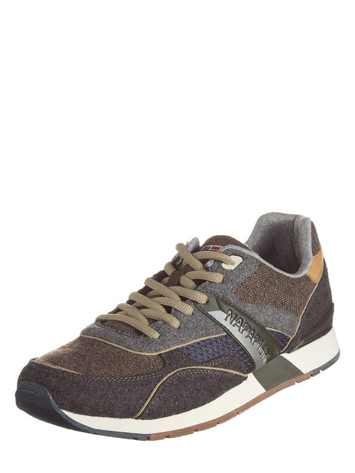 Napapijri Sneakers Rabari in Grau/ Beige