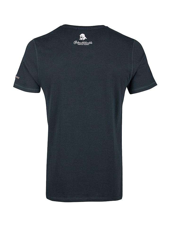 Schmuddelwedda Shirt in Dunkelgr眉n