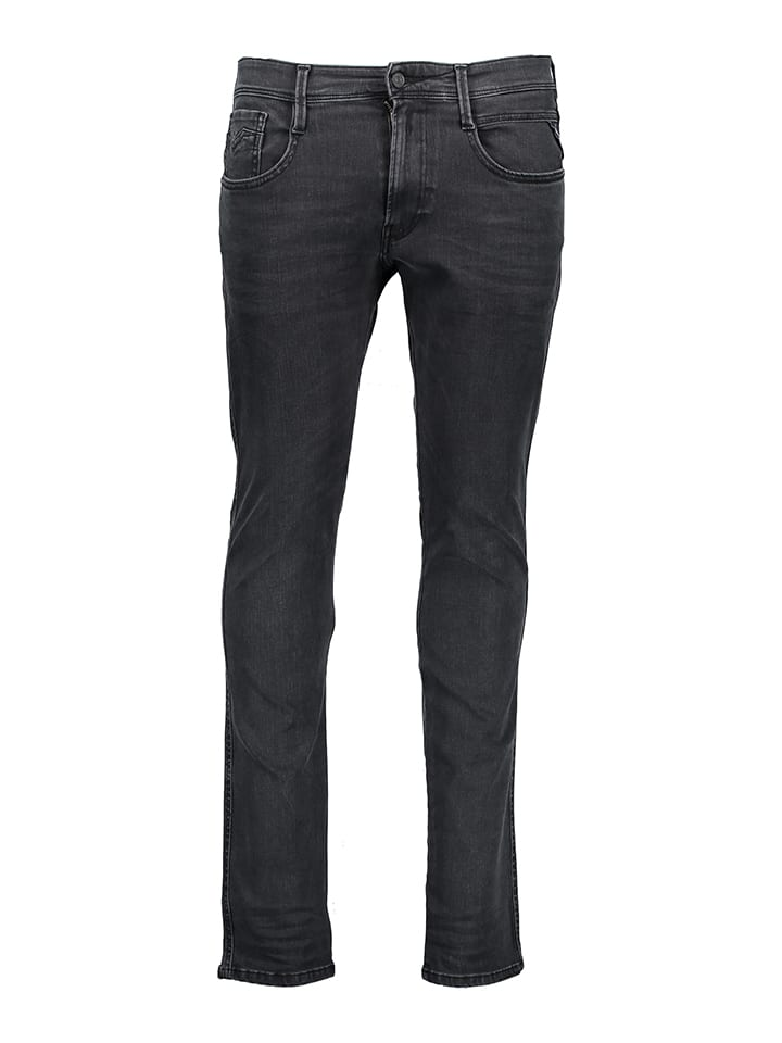 """Replay Jeans """"Anbass"""" - Slim Fit - in Dunkelgrau"""