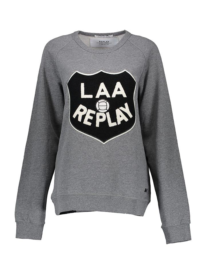 Replay Sweatshirt in Grau