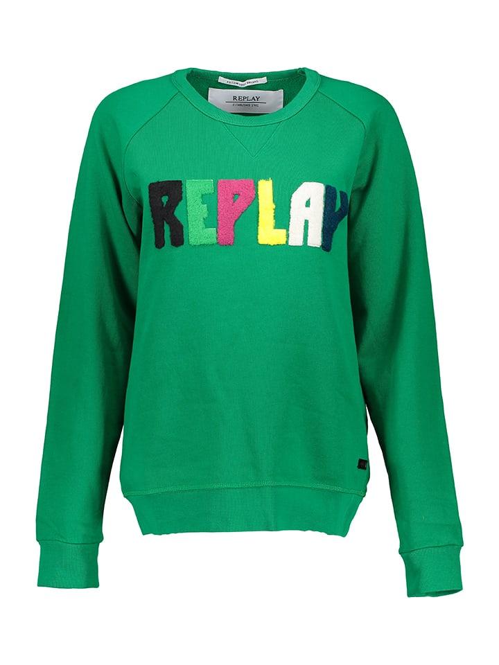 Replay Sweatshirt in Grün