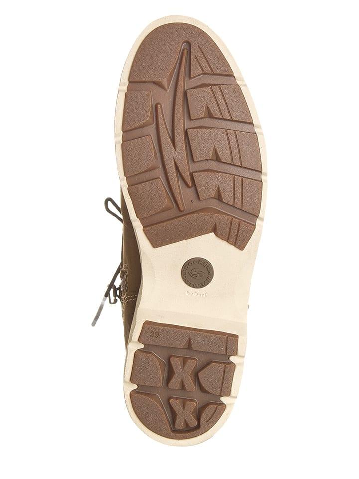 Dockers by Gerli Leder-Boots in Braun
