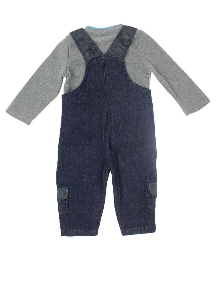 RG512 2tlg. Outfit in Grau/ Dunkelblau