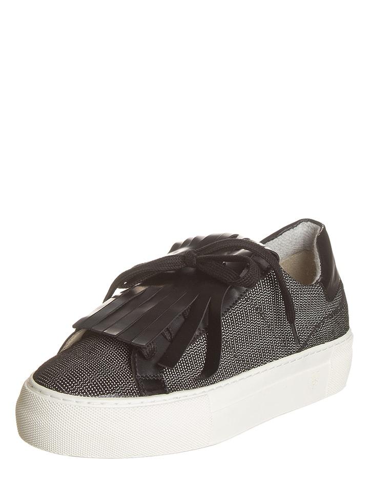 Marc OPolo Shoes Leder-Sneakers in Schwarz