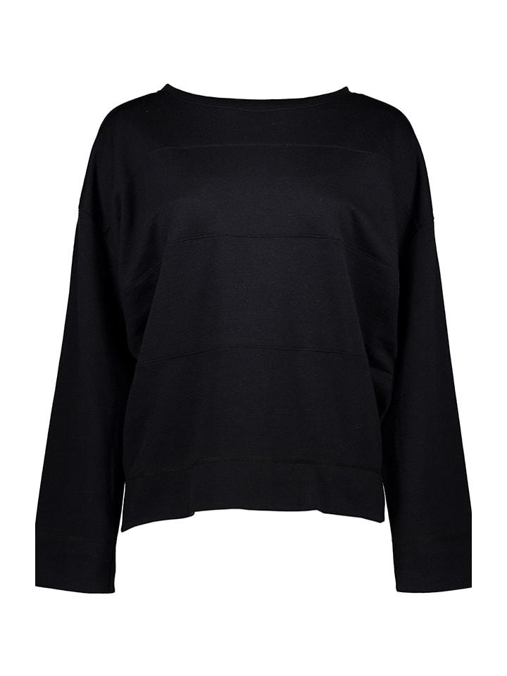 Schiesser Revival Sweatshirt Erna in Dunkelblau