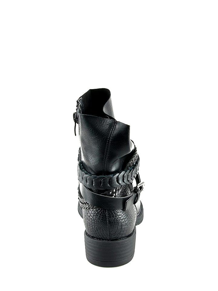 CM Boots in Schwarz