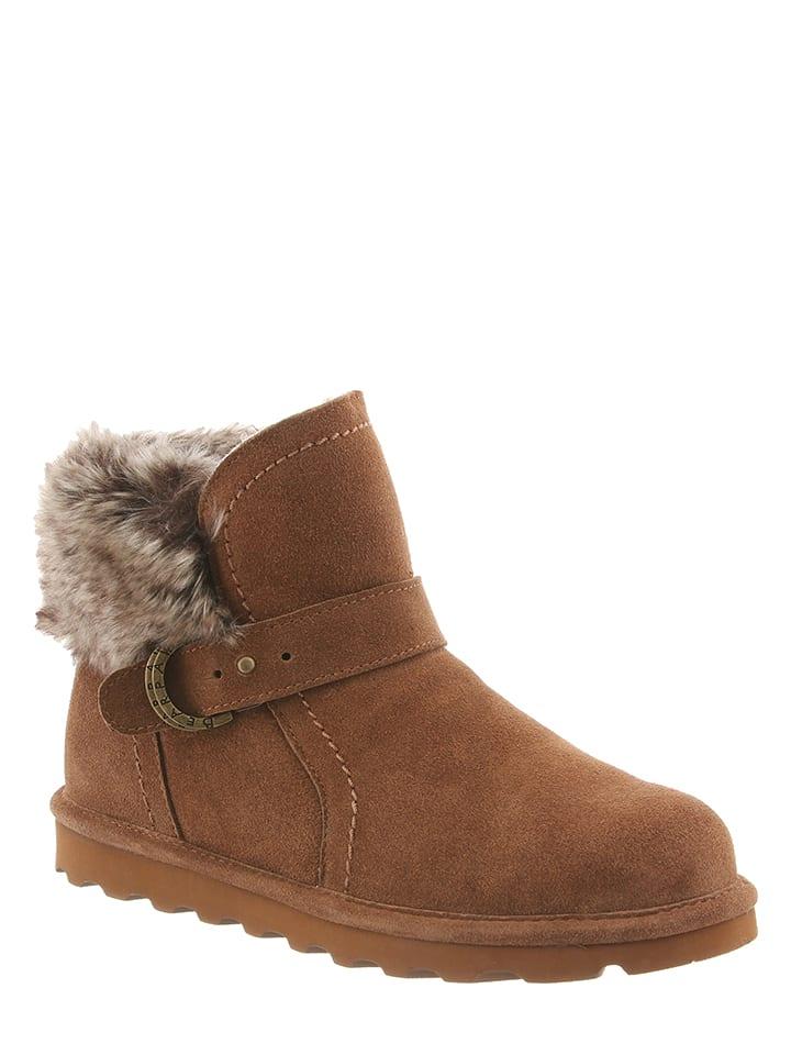 Bearpaw Leder-Boots Rosie in Pflaume - 57% rhBbkt9