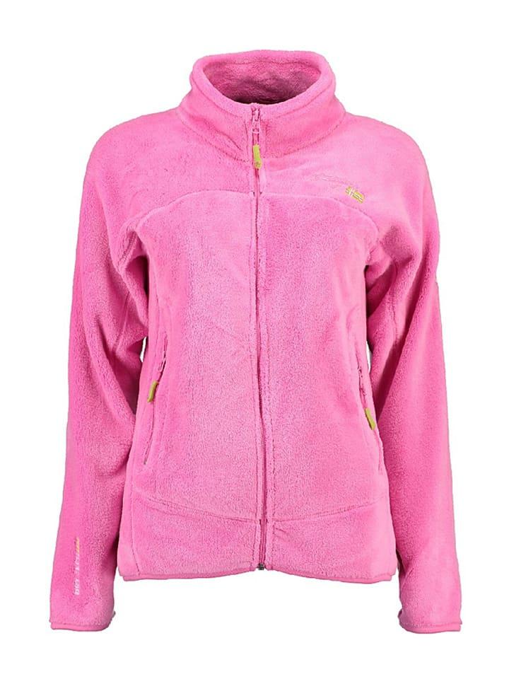 """Geographical Norway Bluza polarowa """"Unicorne"""" w kolorze różowym"""