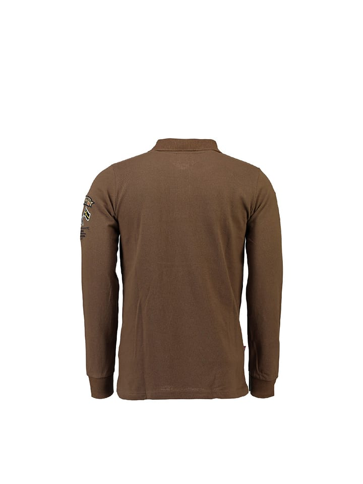 Geographical Norway Poloshirt Kiclass in Taupe
