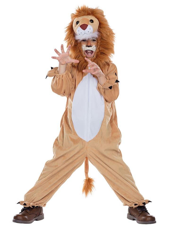 MOTTOLAND Kostüm Löwe Marley in Beige