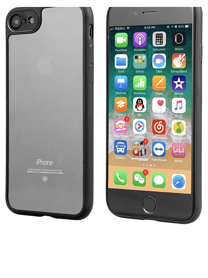 WHIPEARL Case für iPhone 7 in Schwarz