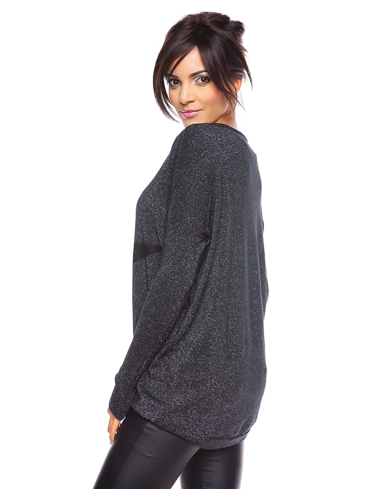 Saint Germain Paris Pullover Rebeka in Schwarz