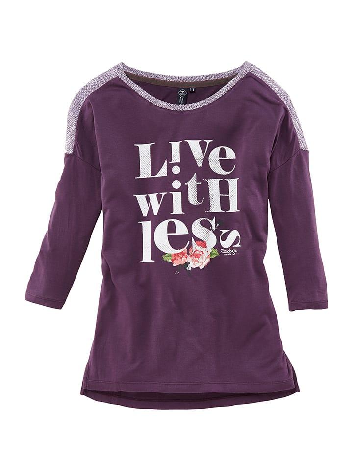Roadsign Shirt in Lila