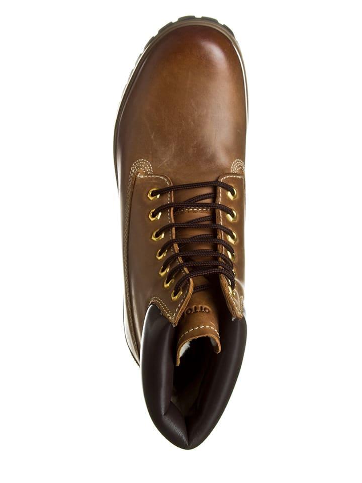 Otto Kern Leder-Boots in Hellbraun