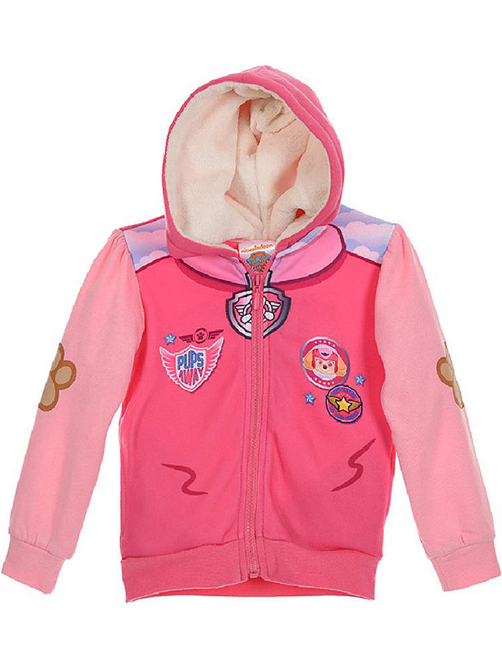 Paw Patrol Sweatjacke Paw Patrol in Pink/ Rosa