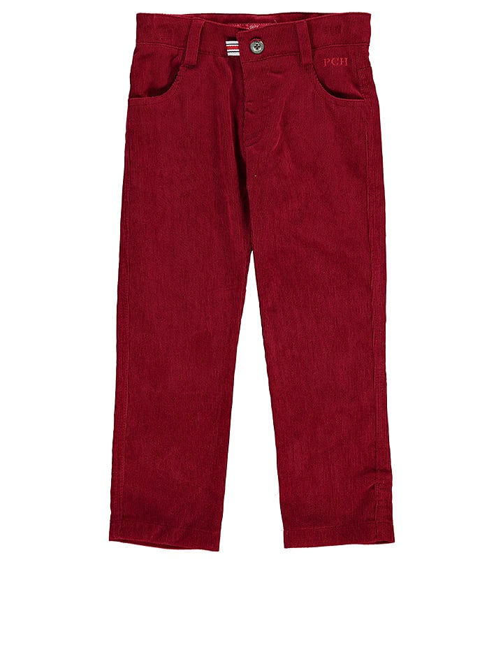 Pan con Chocolate Cordhose Ander in Rot