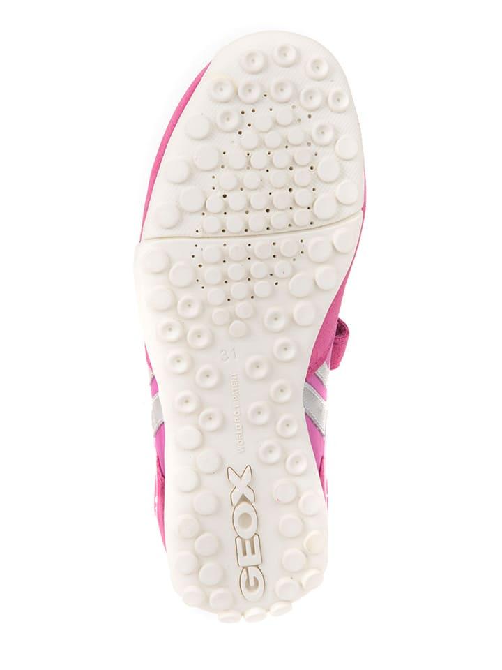 Geox Sneakers Snake in Pink