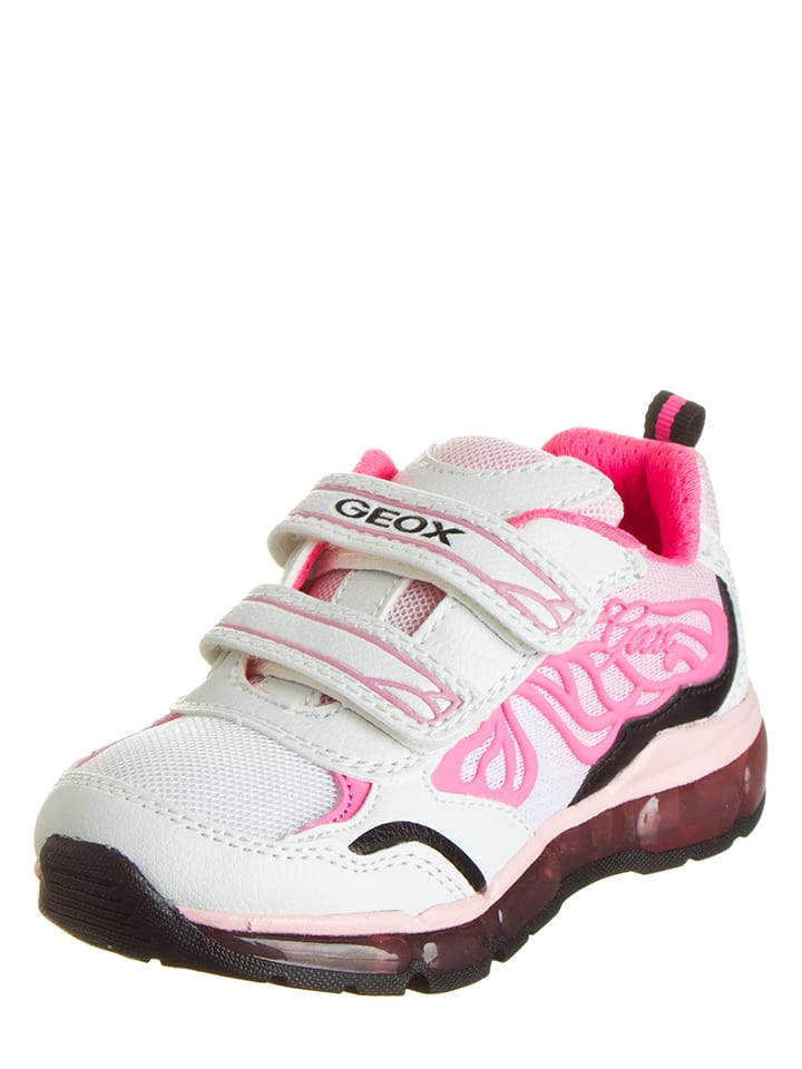 Geox Sneakers Android in Rosa/ Weiß