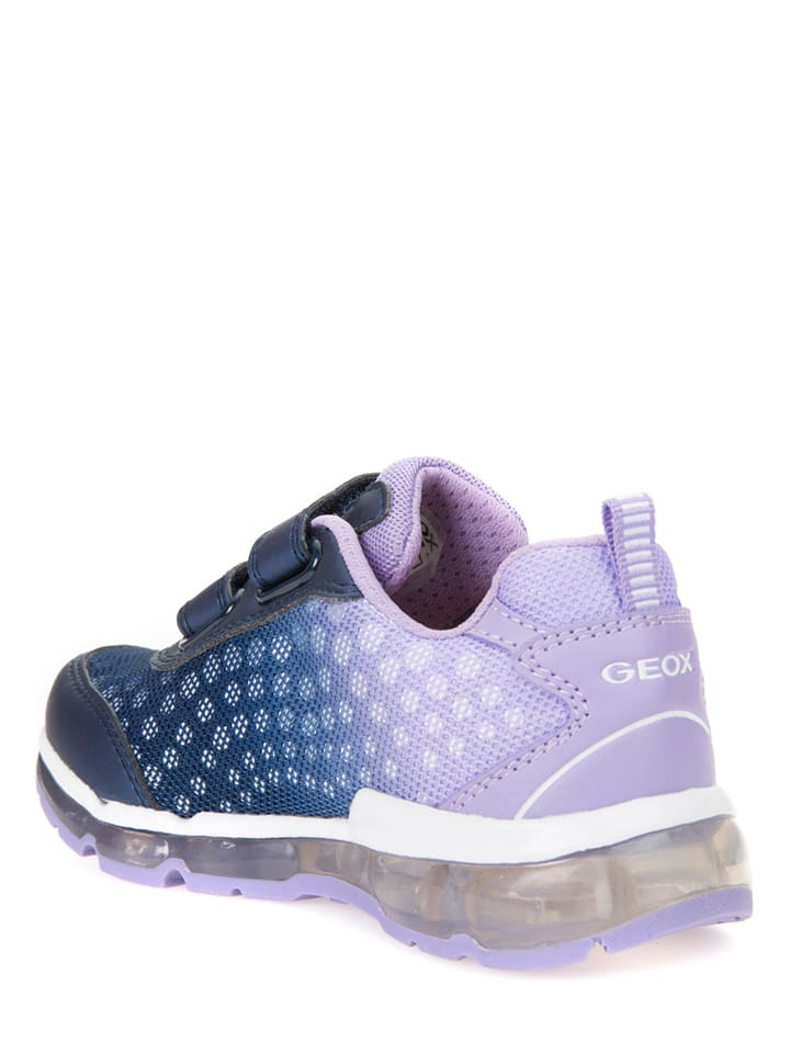 Geox Sneakers Android in Blau/ Lila