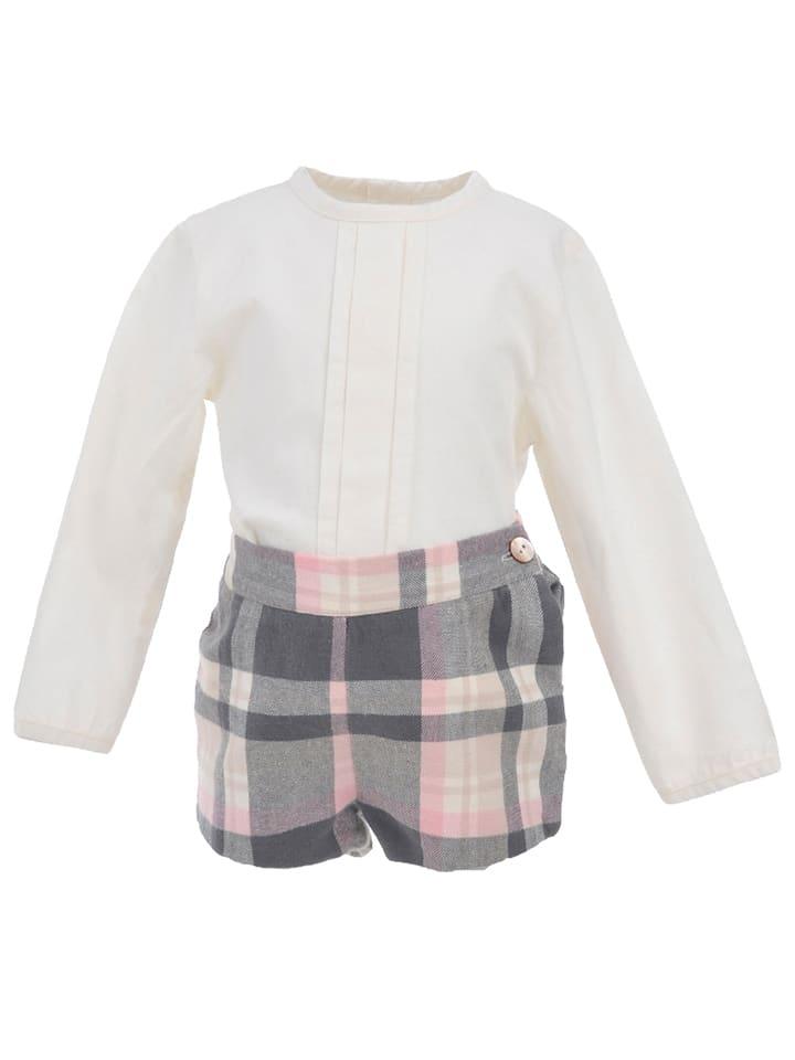 La ormiga 2tlg. Outfit in Grau