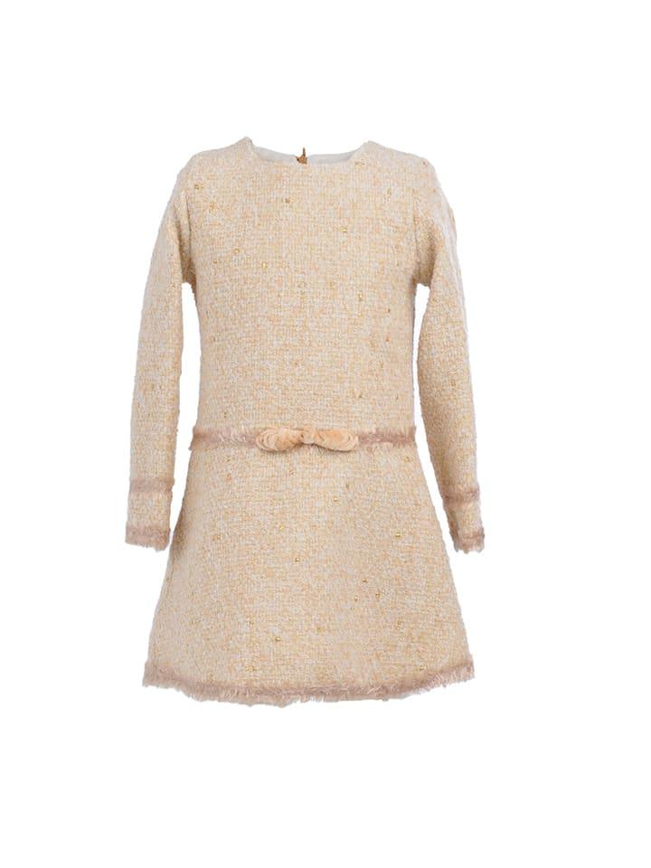 La ormiga Kleid in Beige