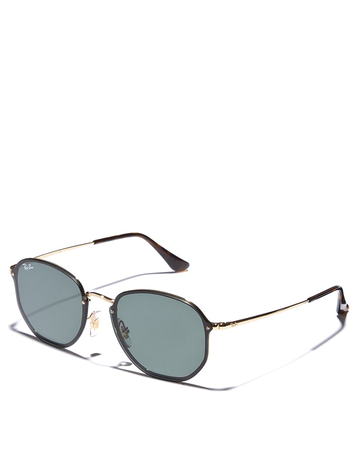 Ray Ban Unisex-Sonnenbrille Aviator in Gold - 42% UVWbJ8hhMb