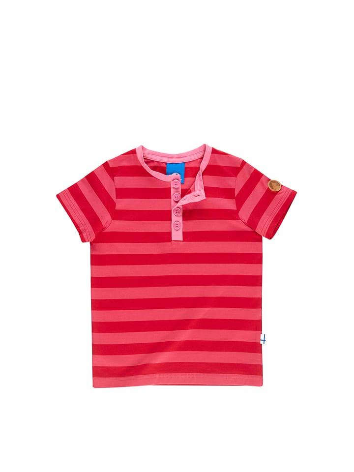 Finkid Shirt Tikkari in Rot/ Pink
