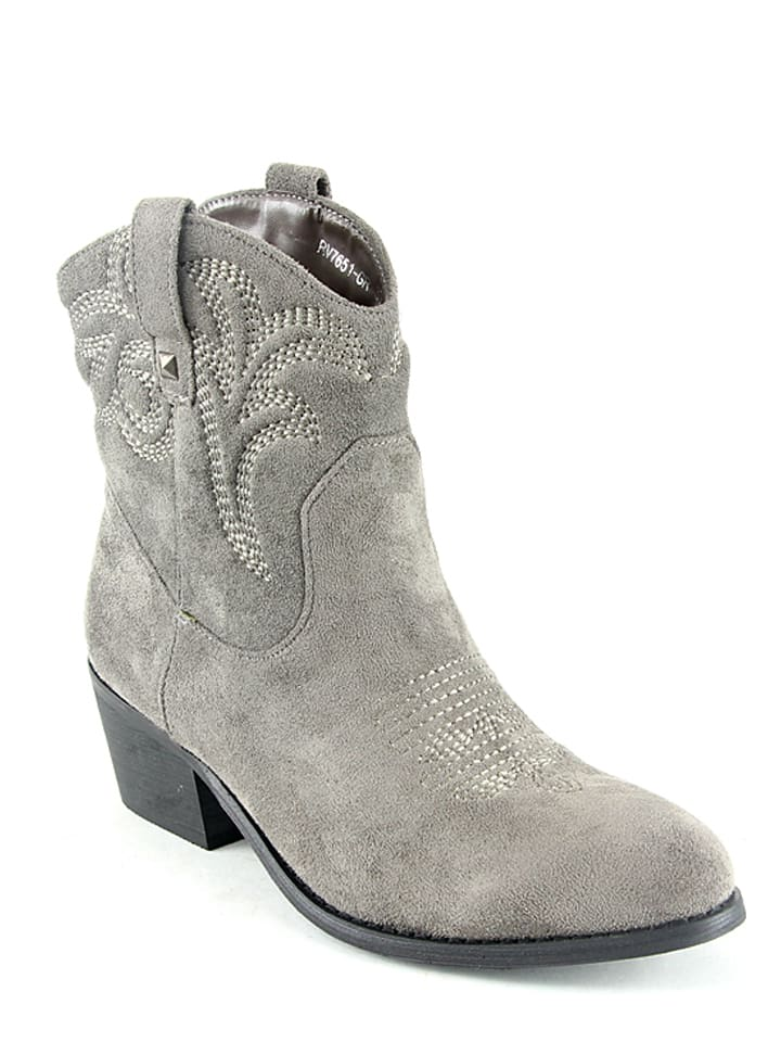 Moow Bottines - gris