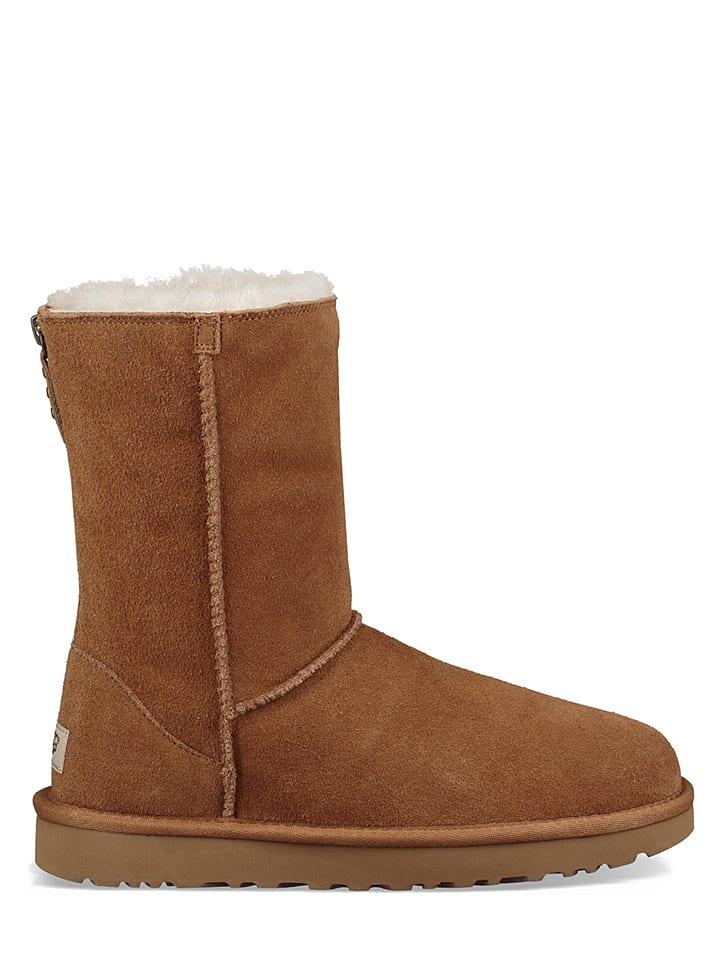 Minnetonka Leder-Boots in Dunkelblau - 60% 43hQQSaX