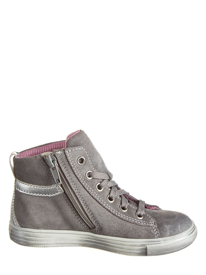 Richter Shoes Leder-Sneakers in Grau - 57% QHjtBMxiLI