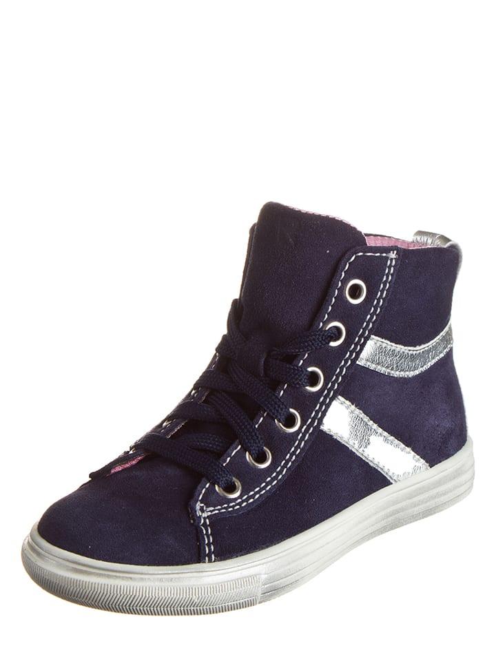 Richter Shoes Leder-Sneakers in Dunkelblau - 57% 3xFk2RH