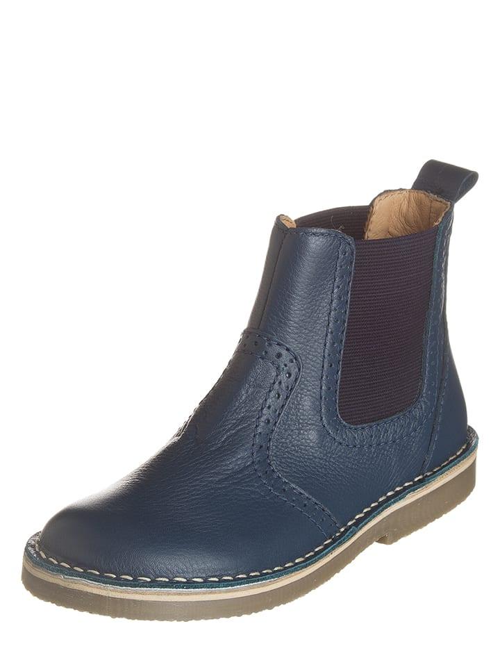 Richter Shoes Leder-Chelsea-Boots in Blau - 56% C0kq4