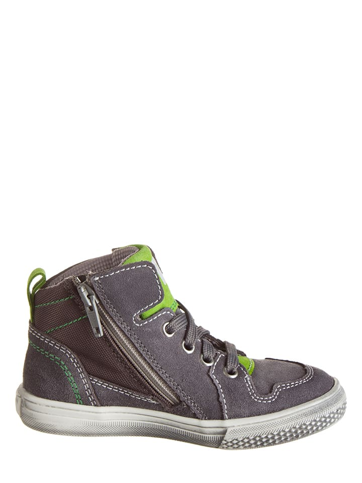 Richter Shoes Leder-Sneakers in Grau - 56%