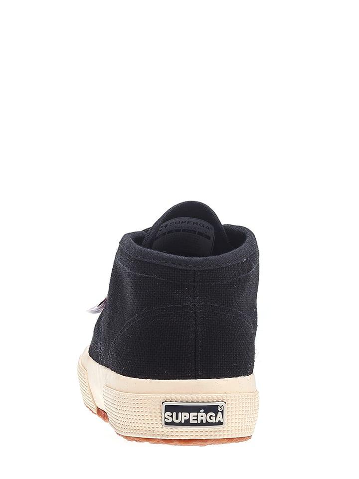 Superga Sneakers Cotu in Schwarz