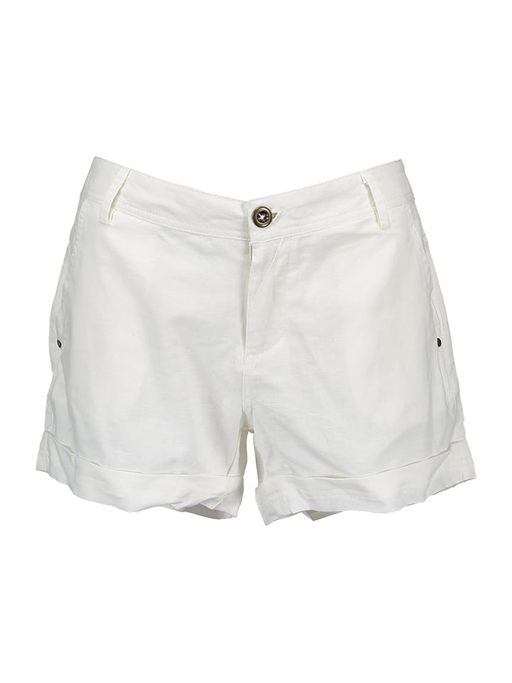 Lilou Secret Shorts in Weiß
