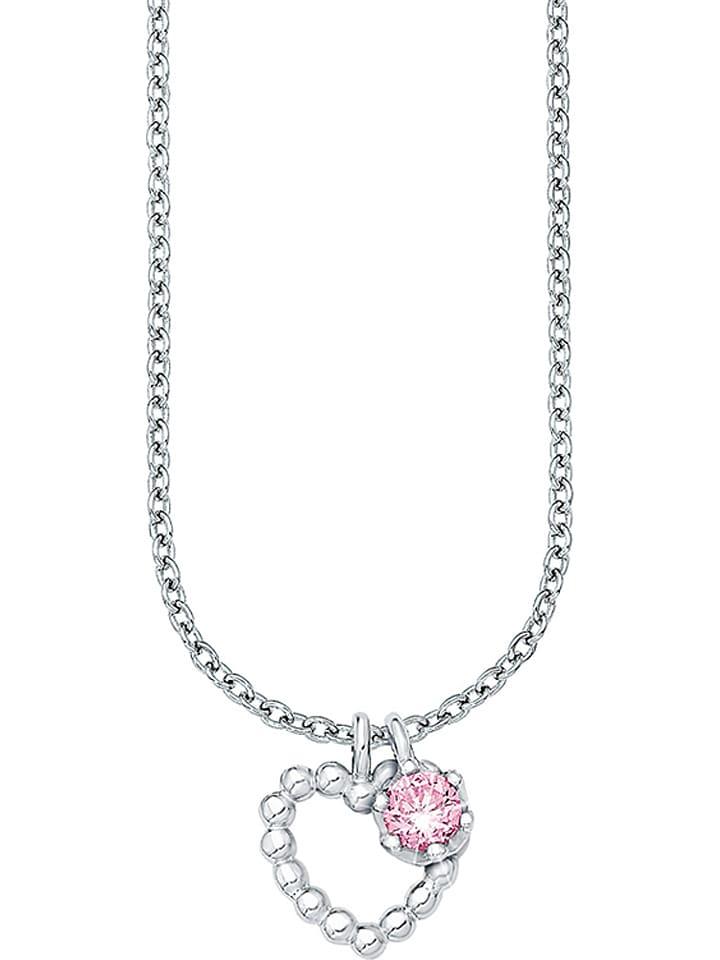 Prinzessin Lillifee Srebrny naszyjnik z zawieszką - dł. 35 cm